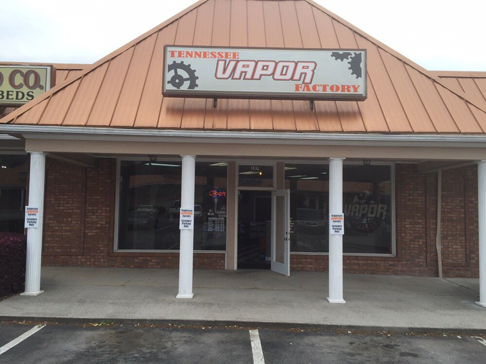 Tennessee Vapor Factory's storefront